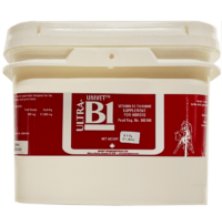 Univet Ultra-B1 vitamin thiamine supplement for equine use and improved performance for horses