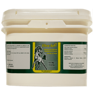 Univet Ultra-Sel II Vitamin E and Selenium supplement products for equine use and improved performance for horses